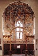 View of the main apsidal chapel dfg GOZZOLI, Benozzo